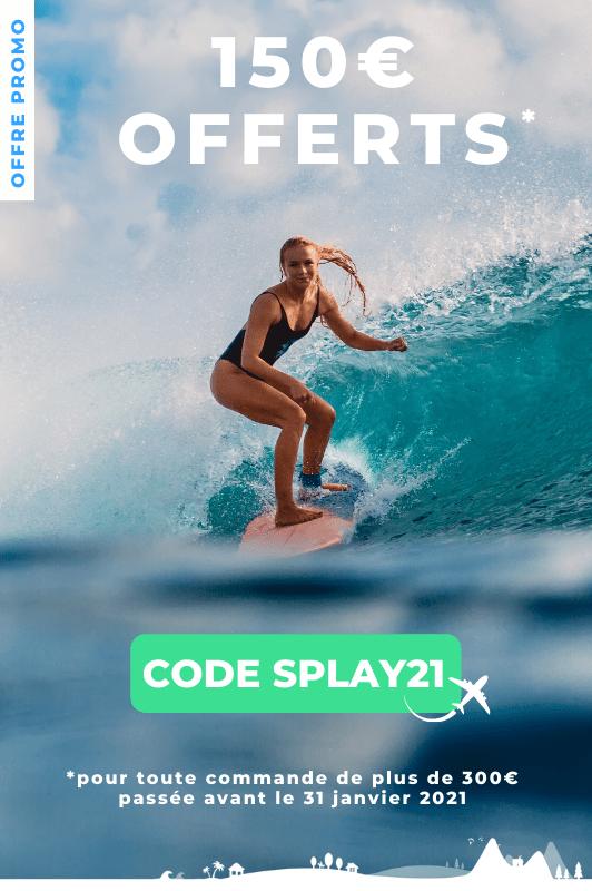 150 offerts code SPLAY21
