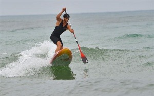 Tom Constant en Stand Up Paddle