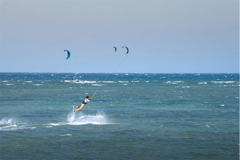 kitesurf et spot de surf monde