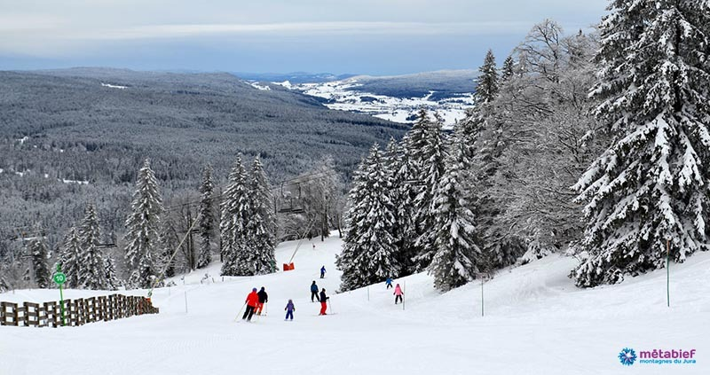 Family ski resort in France - Metabief Jura