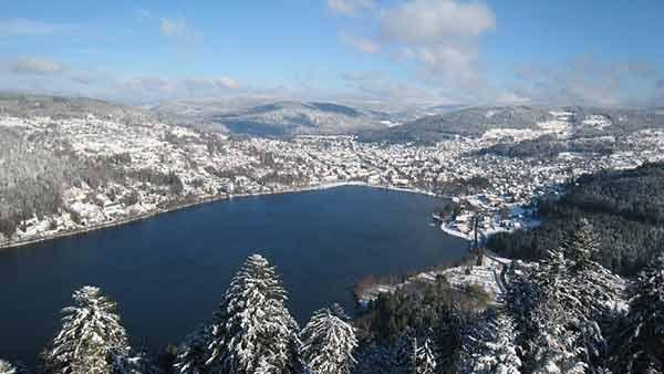 Lac de Gerardmer Vosges