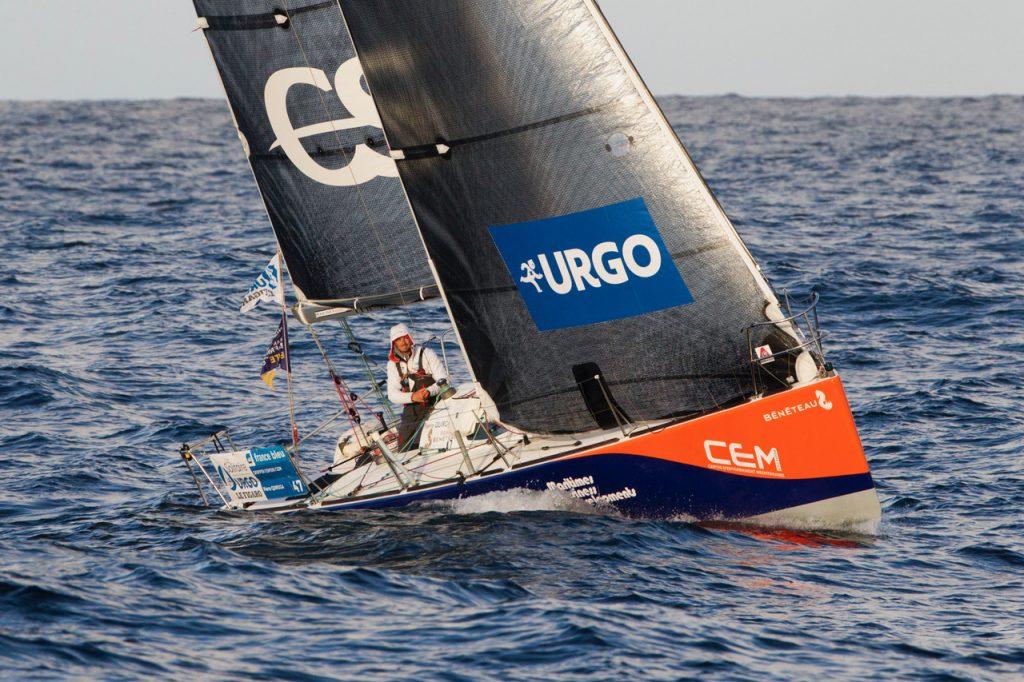 Pierre QUIROGA jeune navigateur ambitieux