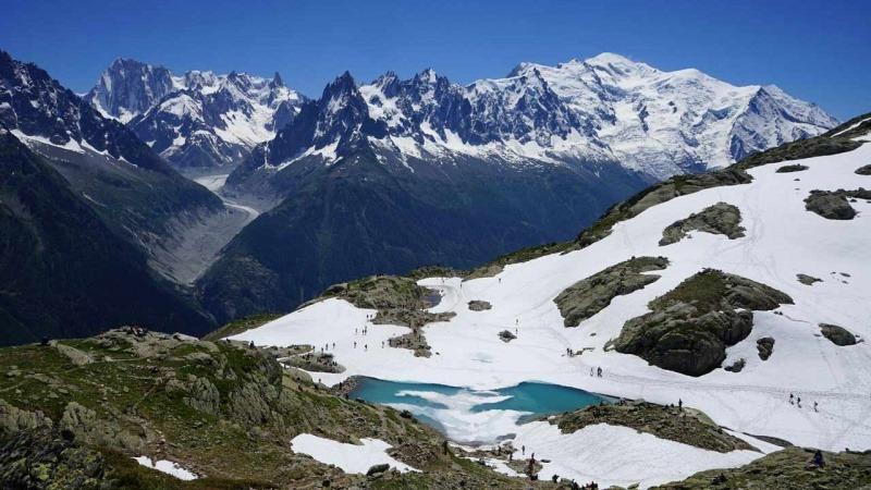 Lac Blanc Chamonix, lac de montagne