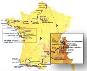tour de France logements - Alpes