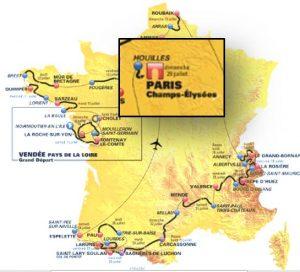 Tour de France logements - Ile de France