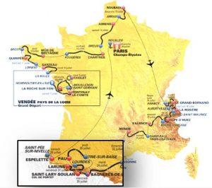 tour de France logements - Pyrénées