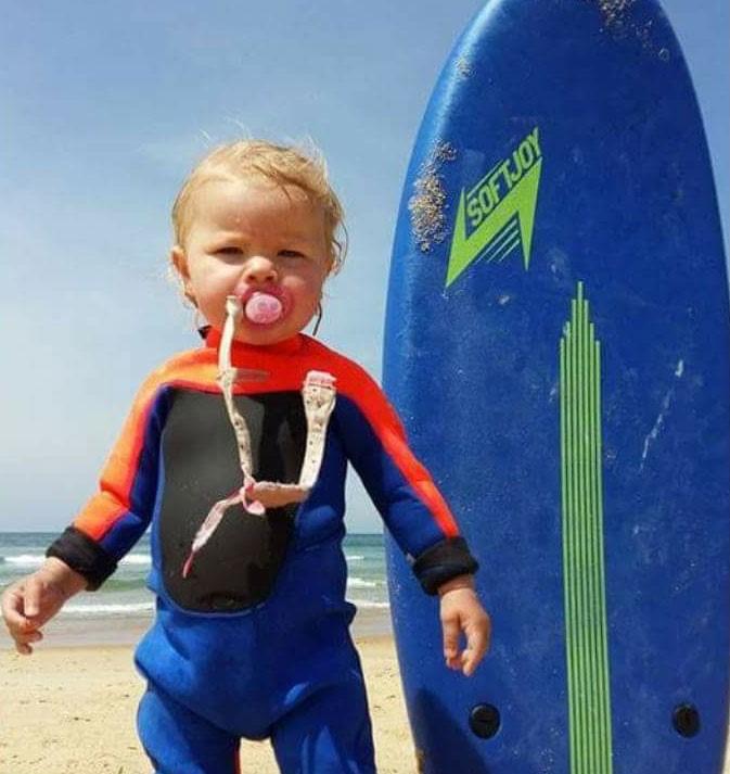 Famille surf à Seignosse