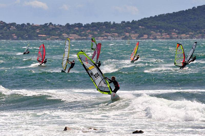 spots de windsurf - Almanarre - Méditerranée