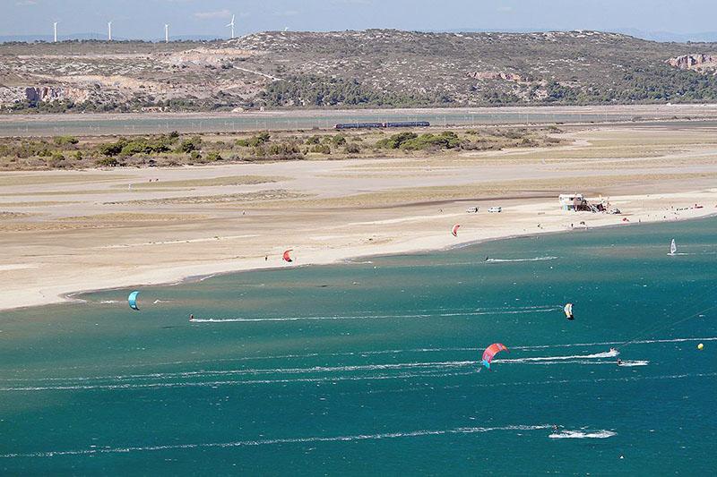 spots de windsurf - La Franqui - Méditerranée
