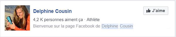 Delphine Cousin Facebook