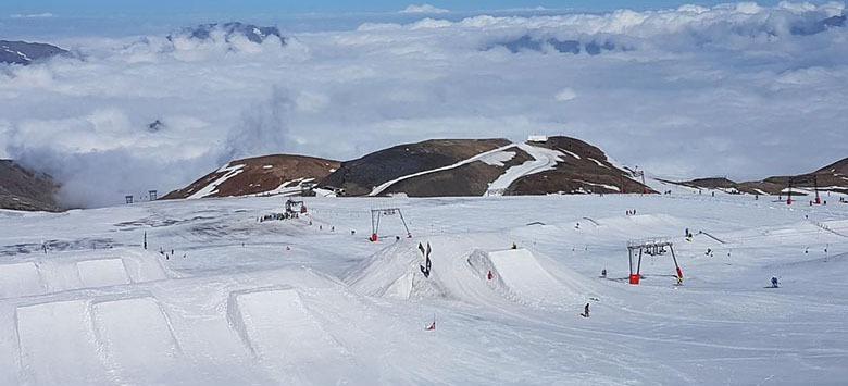 ski été canicule