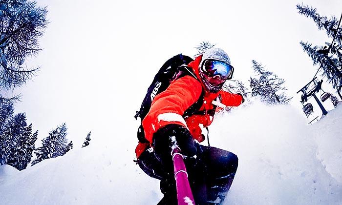 snowboard puff