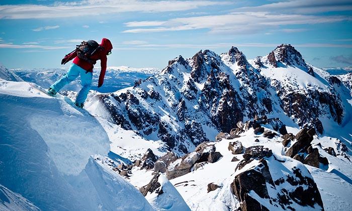 Les conseils d' Anne-Flore Marxer en snowboard Freeride