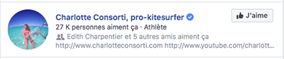 Charlotte Consorti kitesurf FB
