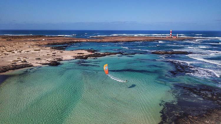 Charlotte Consorti - kitesurf Fuerteventura
