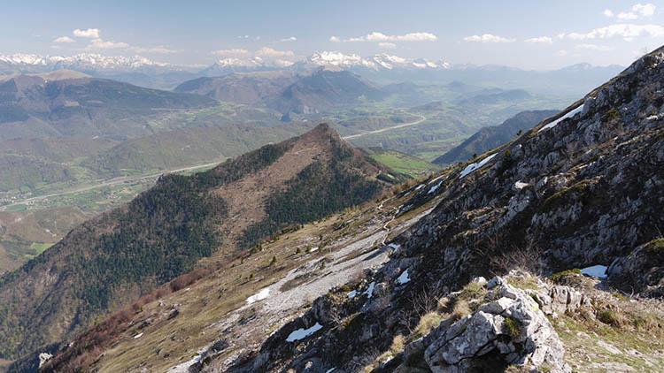 Col de l'arc - randos dans les Alpes - impression nature