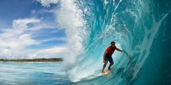Conseils Big wave en surf par Gautier Garanx
