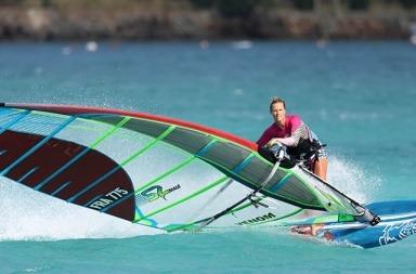 Delphine Cousin - Championne de Windsurf