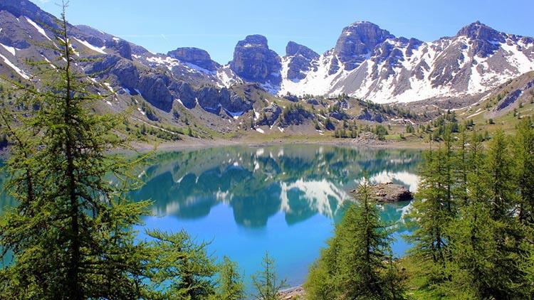 Lac d'Allos - randos dans les Alpes - Les petits bonheurs
