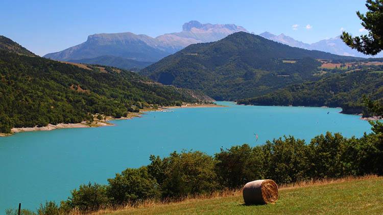 Lac de monteynard - randos dans les Alpes