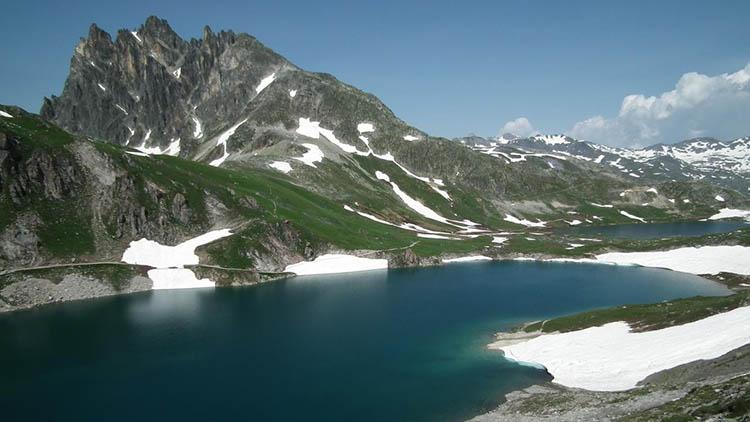 Lac des 3 cercles - randos dans les Alpes - maurienne tourisme