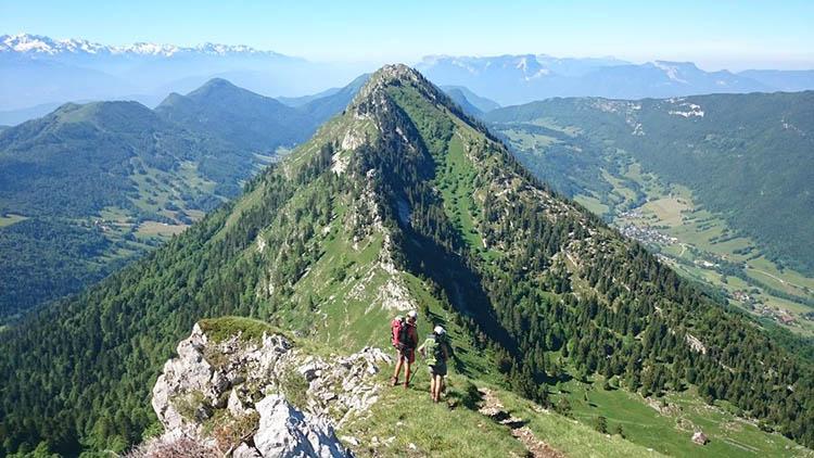 Mont Colombier - randos dans les Alpes - BlogRider