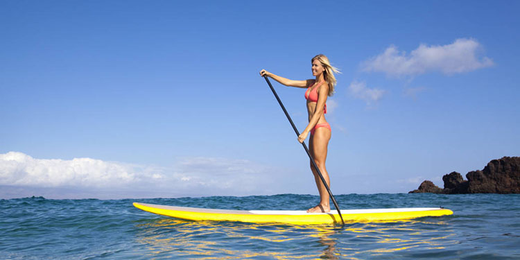 se mettre au stand up paddle ransport