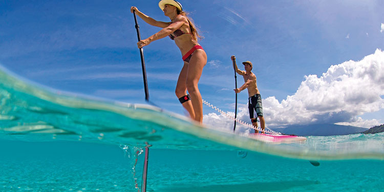 se mettre au stand up paddle sport