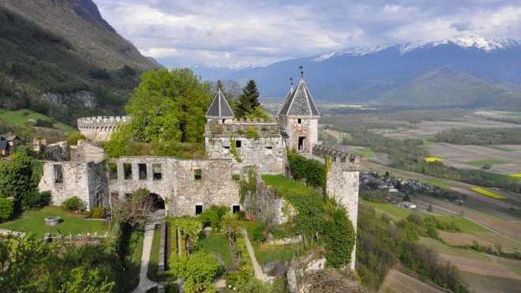 forteresse de miolans - randos dans les alpes