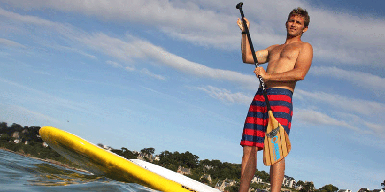 se mettre au stand up paddle pour se muscler