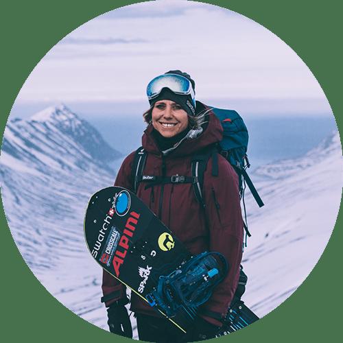 Anne flore marxer - snowboard