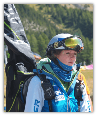 Laurie Genovese parapente