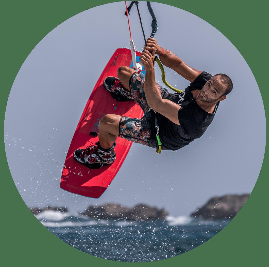 Seb garat - kitesurf
