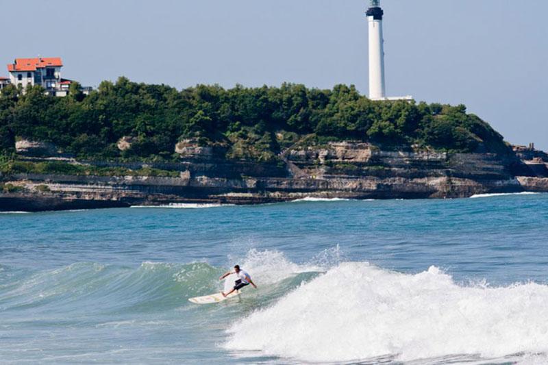 ou surfer en france