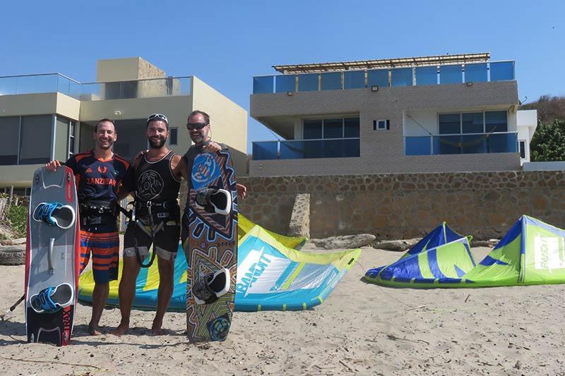 hote sportihome pour un kitesurf trip en colombie