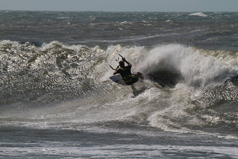 un kitesurf trip en Colombie - waves
