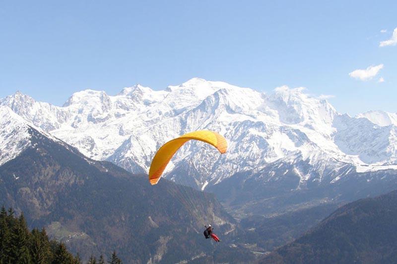 10 raisons de se mettre au parapente - montagnes