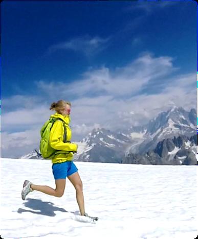 Trail avec Ingrid Farge