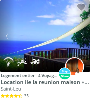 logement spot escalade reunion