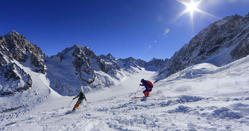 Chamonix grands montets - meilleures pistes de ski
