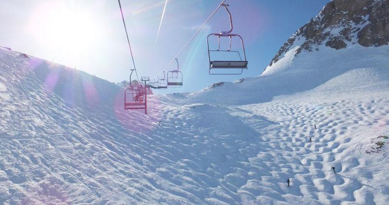 Guerlain Chicherit - Tignes - meilleures pistes de ski