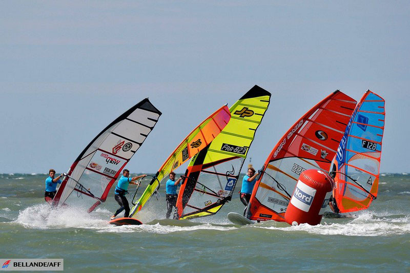 planche à voile Dunkerque slalom