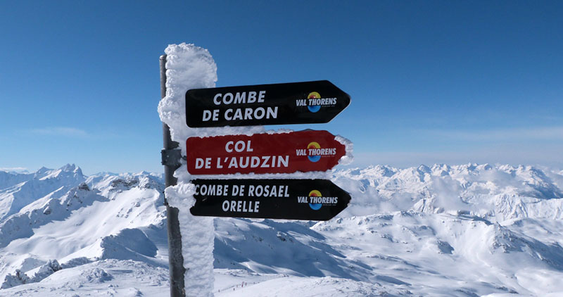 Val Thorens - Combe Caron - meilleures pistes de ski