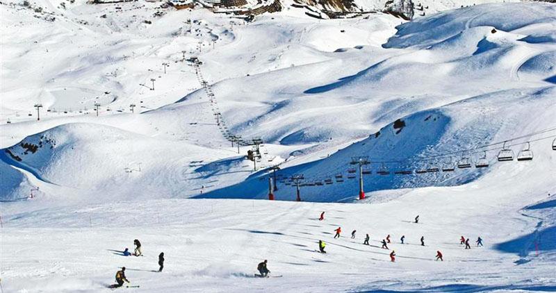 le Parc au sommet du Pic du Piau - meilleures pistes de ski
