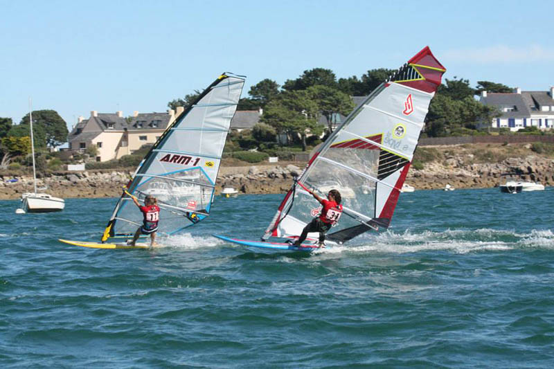 Spots de windsurf en Bretagne Saint Colomban