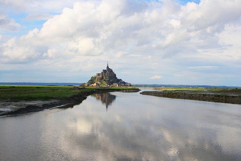 Mont Saint Michel - etapes du GR34 en Bretagne
