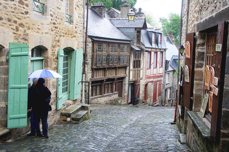 SaintMalo - etapes du GR34 en Bretagne