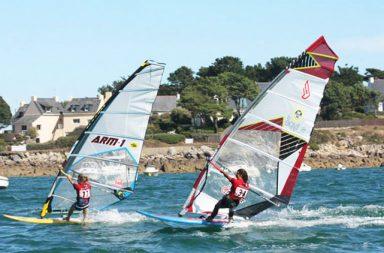 meilleurs spots de windsurf de bretagne