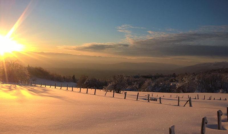 Ski de fond sur plateau du retord