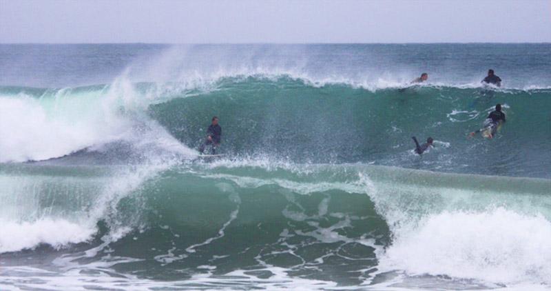 Surf en mediterranée - Cannes